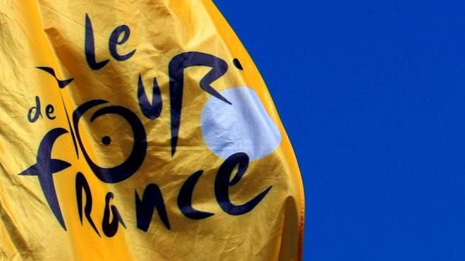 Bandera del Tour de Francia.