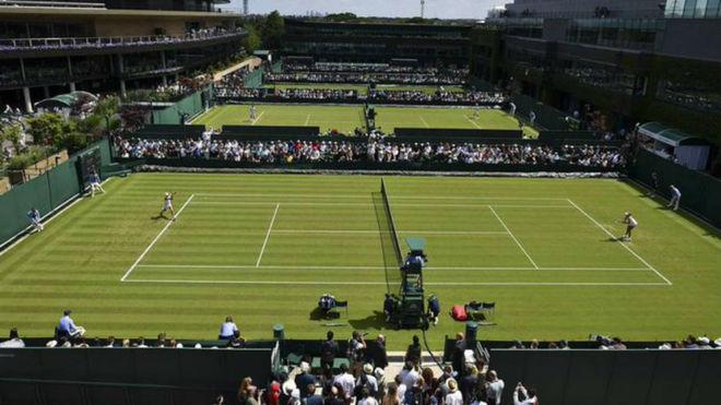 Se apunta Wimbledon un saque as con seguro contra pandemias | Fotonota