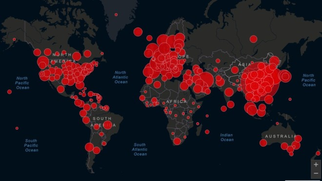 Mapa del Coronavirus en Colombia y el Mundo: contagios, muertes y...