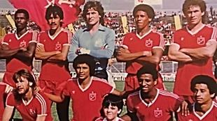 América de Cali, campeón de 1986.