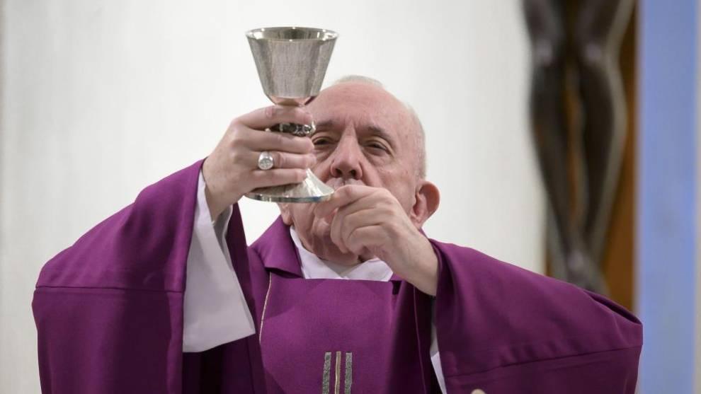 Misa de Jueves Santo 2020 con el Papa Francisco