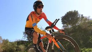 Mikel Landa durante la Vuelta a Andalucía.