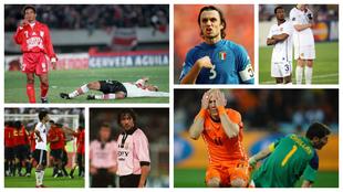 De Ávila, Maldini, Evra, Robben, entre otros.