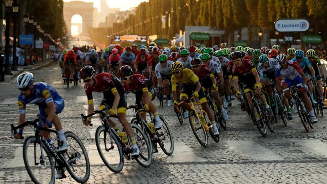 Aspecto de la última etapa del pasado Tour.