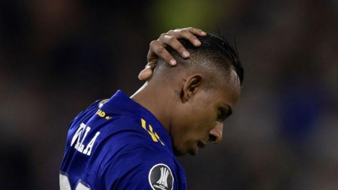 Sebastián Villa no viaja a Paraguay para jugar ante Libertad