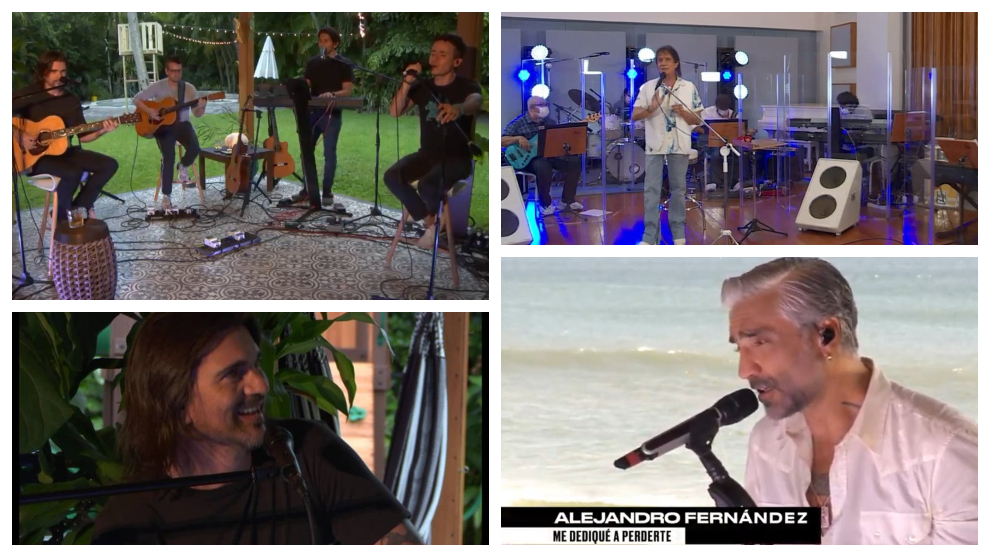 Juanes, Fonseca, Roberto Carlos, Alejandro Fernández y Roberto ...
