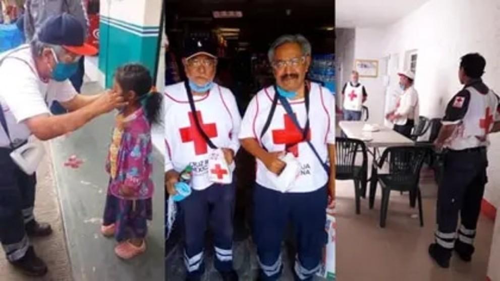 Cruz Roja: Un voluntario fue agredido y bañado con cloro mientras ...