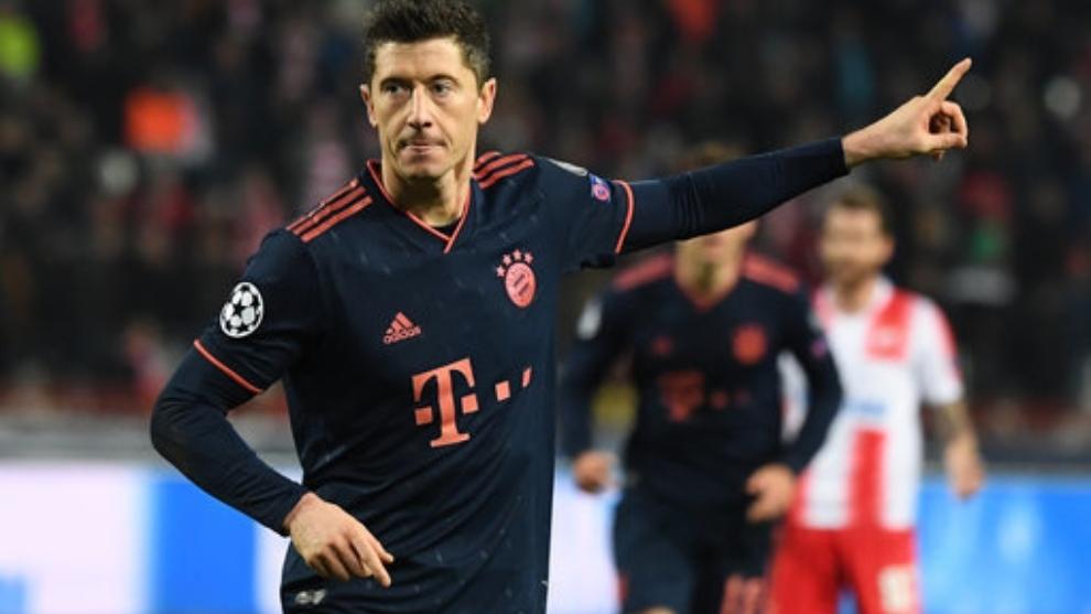 La sorprendente lista de los cinco mejores delanteros del mundo para Lewandowski