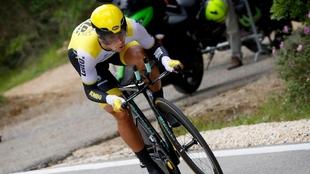 Primoz Roglic en el Tour de Francia.