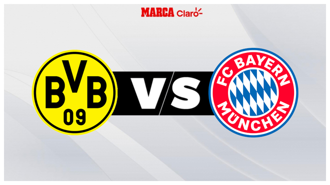 Borussia Dortmund vs Bayern Múnich, en directo.