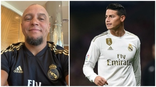 Roberto Carlos sale en defensa de James Rodríguez