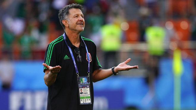 Juan Carlos Osorio en el Mundial de Rusia 2018