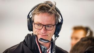 James Allison, en su trabajo como director técnico de Mercedes.