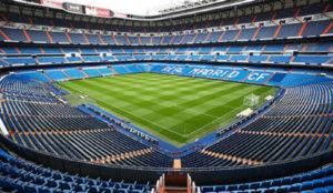 Estadio Santiago Bernabéu, casa del Real Madrid de España