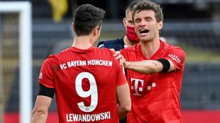 Robert Lewandowski es el goleador de la Bundesliga con 30 anotaciones.