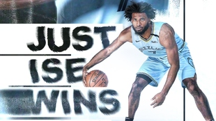 El jugador Justise Winslow, en un póster promocional de los Memphis...