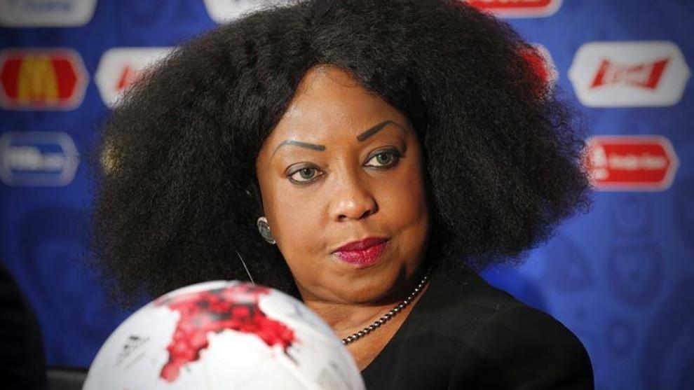 Fatma Samoura, secretaria general de FIFA.