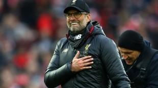 Jürgen Klopp, el entrenador que ha llevado al Liverpool a...