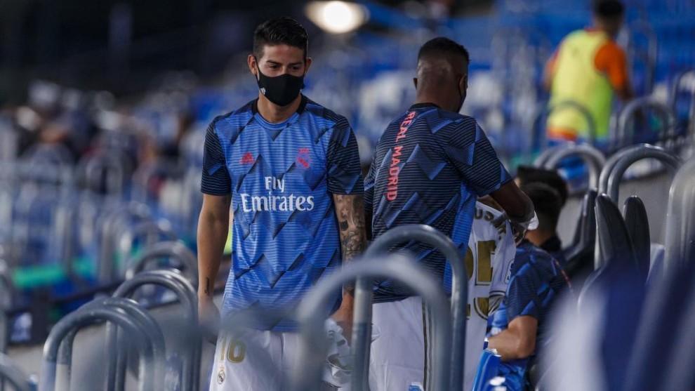 James Rodríguez se ha convertido en un suplente habitual del Real...