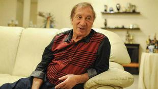 Carlos Salvador Bilardo, durante una entrevista.