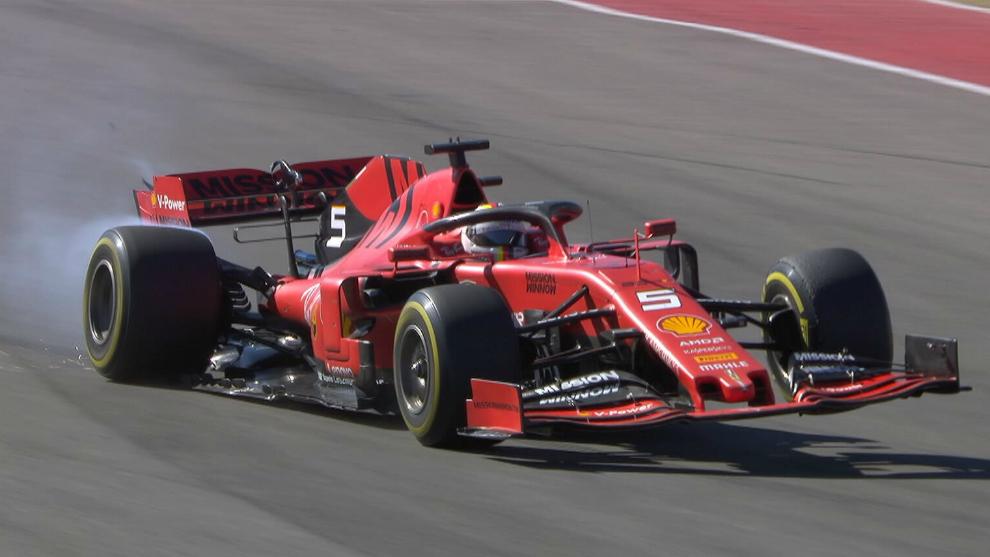 Vettel, piloto de la Fórmula 1