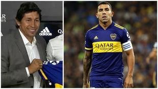 Ambos, ídolos y queridos por la hinchada de Boca Juniors