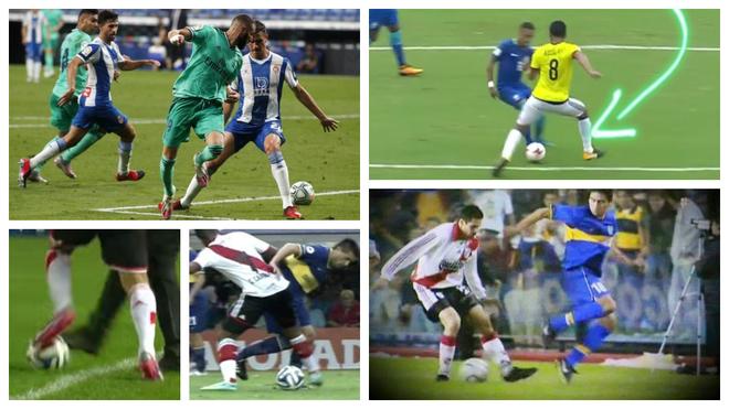 Algunas jugadas en las que se vieron involucrados los jugadores...