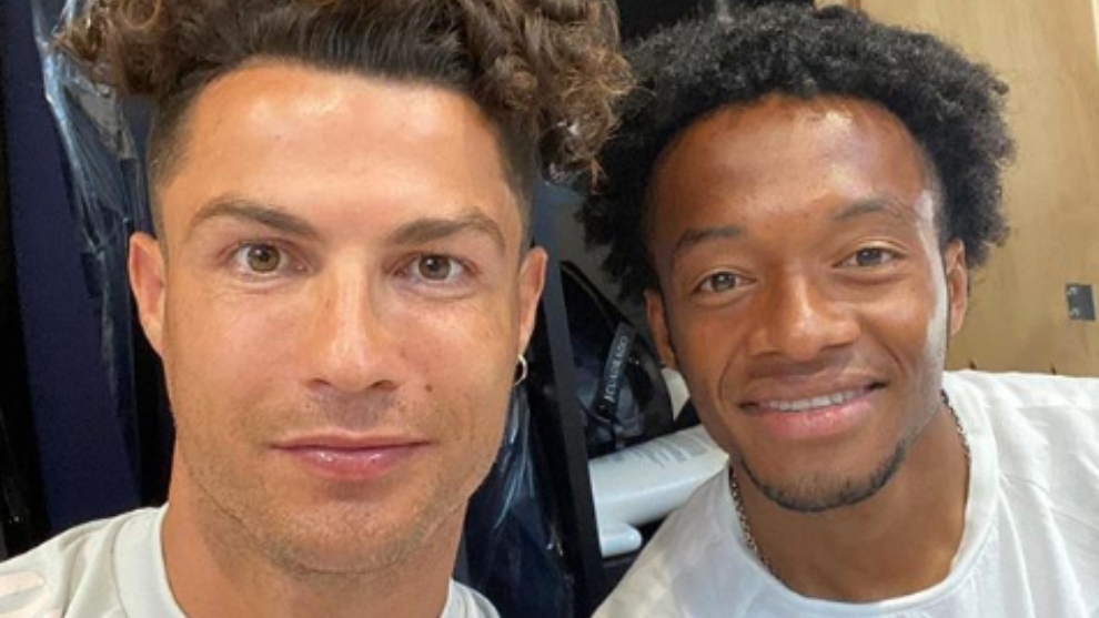 Serie A: Cristiano Ronaldo 'copia' el estilo de cabello de Juan ...