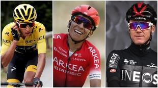 Todos estarán pendientes, en Colombia, de estos tres corredores.