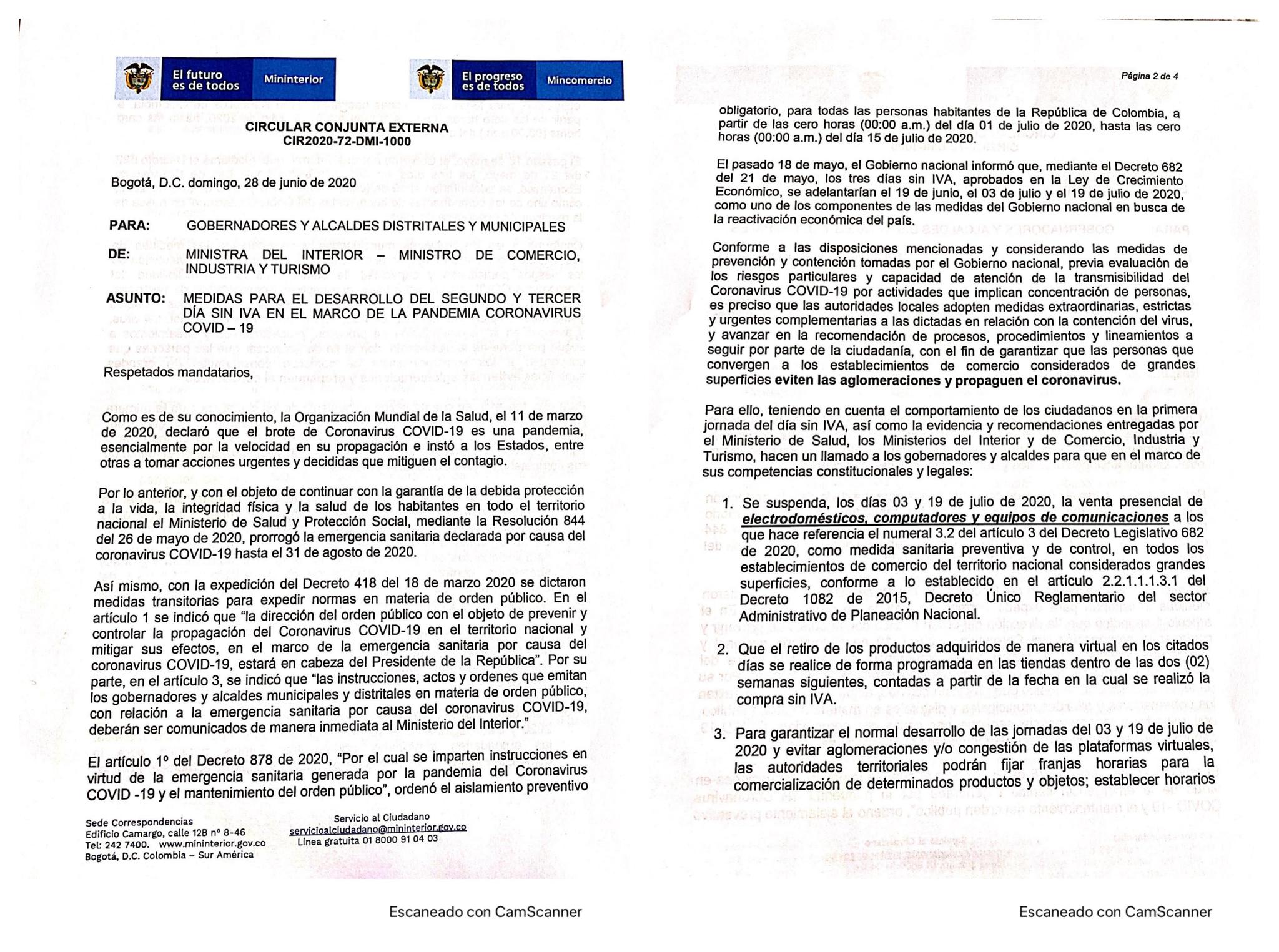 Coronavirus en Colombia 30 de junio: Resumen de contagios, muertes y últimas noticias 13