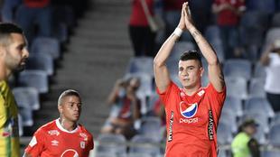 Michael Rangel se disculpa con los hinchas del Bucaramanga tras...