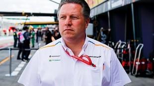 Zak Brown se refirió al regreso de la Fórmula 1 tras el parón por...