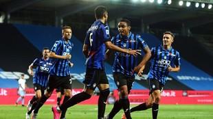 El Atalanta suma tres victorias en tres partidos desde que regresó de...