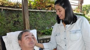 Luis Fernando Montoya y su esposa, Adriana Herrera.