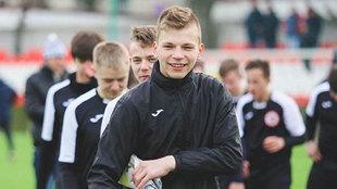 Iván Zaboróvski, en una foto de archivo con su equipo