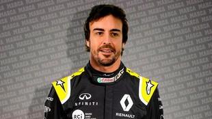 Fernando Alonso, nuevo piloto de Renault para el 2021