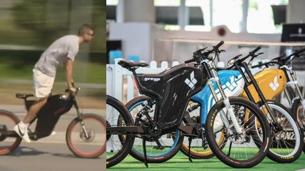 Esta es la GREYP G12S, la bicicleta que llevó a Piqie al Camp Nou