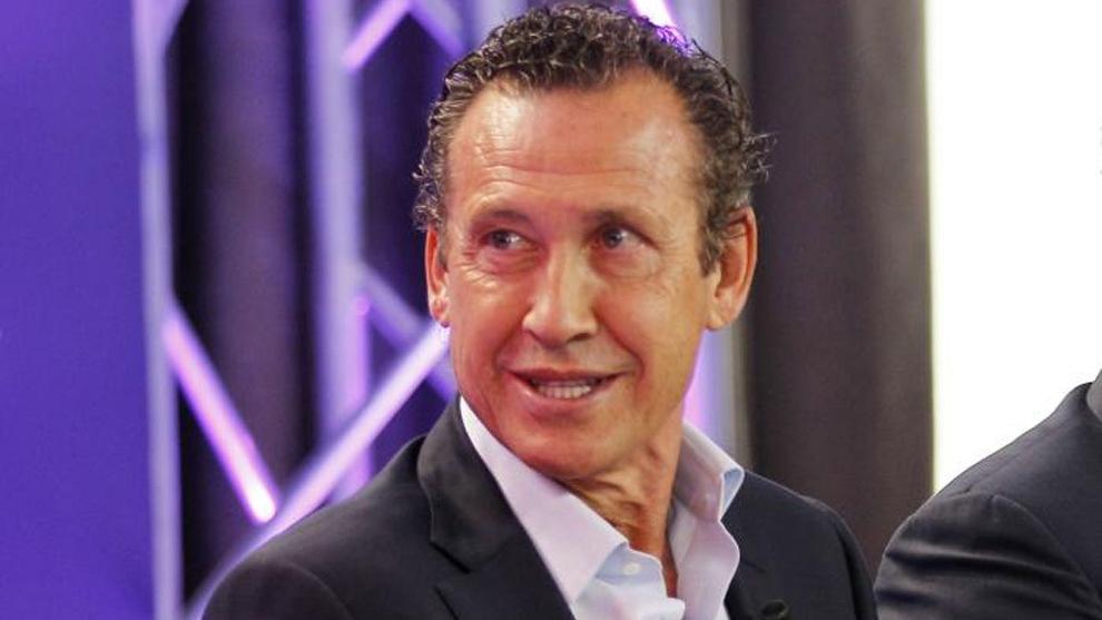 Jorge Valdano, durante un evento.