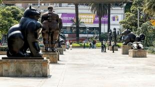 Ciudad de Medellín durante la cuarentena por el coronavirus