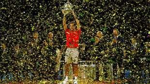 Federer gana el torneo de Basilea por décima ocasión