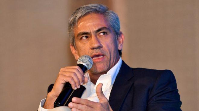 Marco Caicedo, presidente del Deportivo Cali