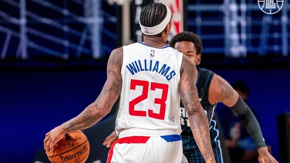 Williams, durante un partido en Orlando.
