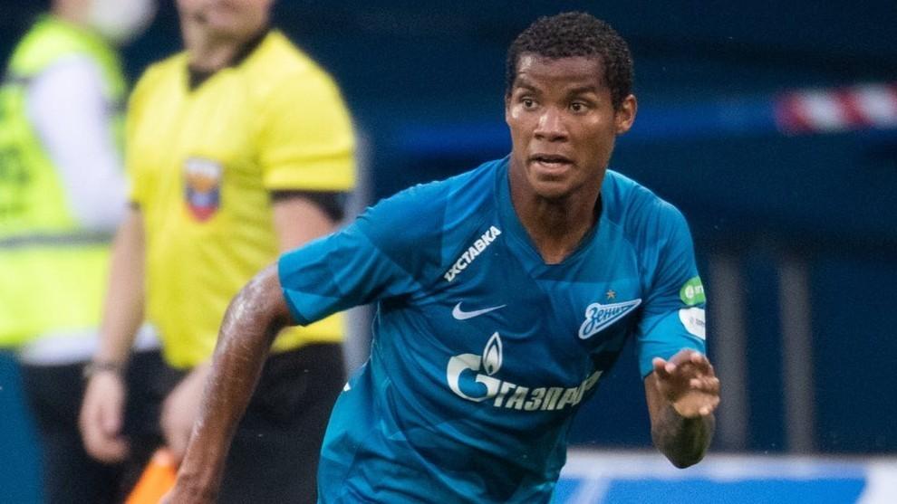 Zenit, con Wilmar Barrios, levanta la Copa rota
