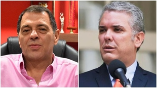 Collage de Tulio Gómez e Iván Duque.
