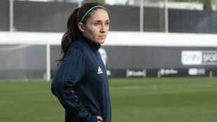 Natalia Gaitán, durante un entrenamiento
