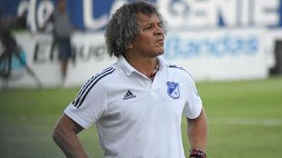 Alberto Gamero, técnico de Millonarios.