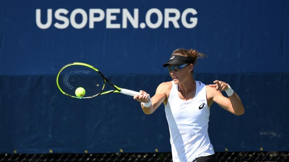 La tenista Samantha Stosur, durante un partido del US Open.