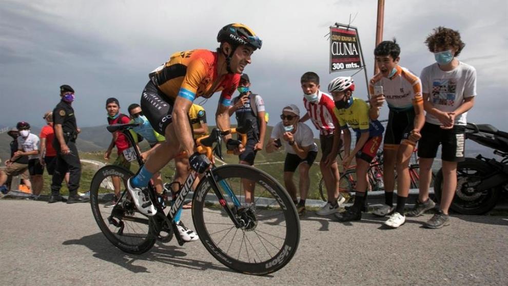 Mikel Landa, durante la Vuelta a Burgos.