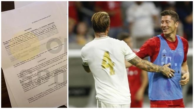 El millonario contrato que Real Madrid le ofreció a Lewandowski