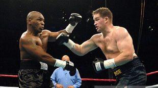 Tyson y McBride en 2005.